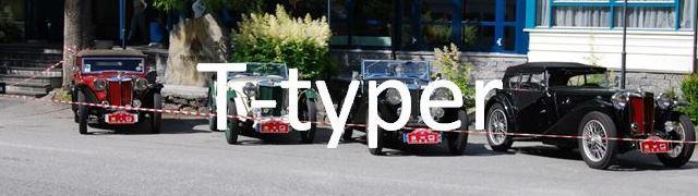 Knap t-typer
